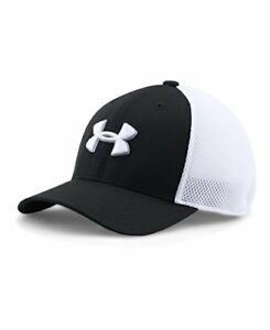 $20 BN Under Armour Boys' Golf Classic Mesh Cap Black (001) X-SmallSmall