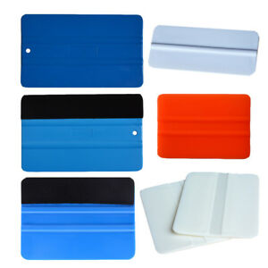 6 in 1 Auto Film Wrap Tinting Tool Flexible Squeegee Soft Scraper Decals Install