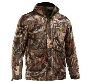 Under Armour Men's Scent Control Gunpowder Camo Jacket Size-L