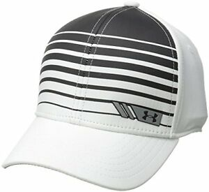 $25 Under Armour Boys' Golf Low Crown Cap White (100) X-SmallSmall (1)