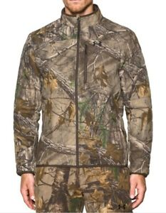 Under Armour Stealth Extreme Wool Camo Hunting Jacket Size-L