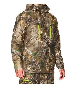 Under Armour Men's Infrared Gore-Tex Insulator Camo Jacket XL and Bib L