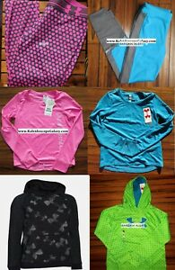 UNDER ARMOUR GIRLS ~ EXTRA LARGE LEGGINGS ~ TOP ~ HOODIE SWEATSHIRTS ~ $260