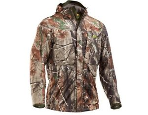 Under Armour Men's Gunpowder Camo Jacket and Pants Size-XLW38