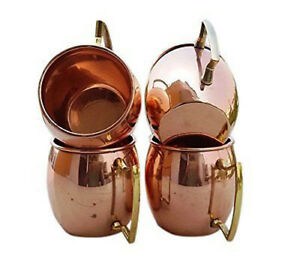Moscow Mule Mug Cup Drinking Plain Copper Brass Steel 500ml Tea Beer Tumbler