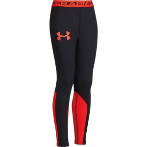 Under Armour Fitted Boy's Big Logo Leggings  Save 40%!!  XL     Combine Training