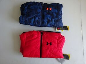 Under Armour Boy's ColdGear Reactor Hooded Jacket NWT!!! New 2017