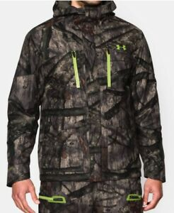 Under Armour Men's Infrared Gore-Tex Insulator Camo Jacket XL and Bib Size-L
