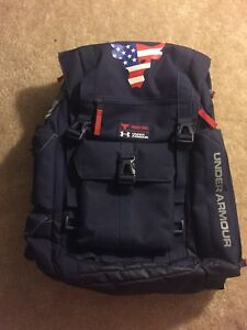 Project Rock Under Armour Backpack - Midnight Navy SOLD OUT UNAVAILABLE