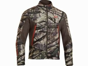 Under Armour Men's Ayton Fleece Camo Jacket XL and Pants W34BeanieGloves