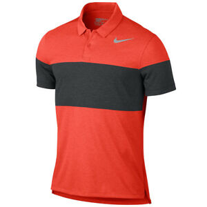 NEW NIKE MODERN FIT TRANSITION DRY 41 PRINTED 2 GOLF POLO