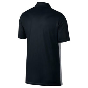 NEW NIKE DRY FIT ENGINEERED OLC GOLF POLO BLACKWOLF GRAYWHITE X-LARGE