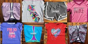 GIRLS 6 SUMMER CLOTHING ~ TEMPO RUNNING SHORTS ~ T-SHIRTS ~ NEW ~ $183 Retail