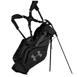 NEW 2018 UNDER ARMOUR STORM MATCH PLAY 4-WAY STAND BAG BLACK