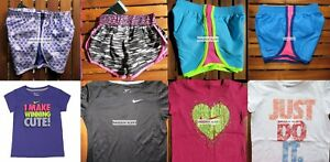 GIRLS 6 SUMMER CLOTHING ~ TEMPO RUNNING SHORTS ~ T-SHIRTS ~ NEW ~ 8 Pieces $182