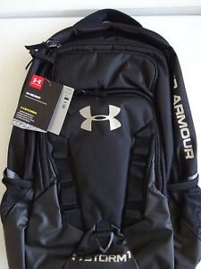 Under Armour Storm Recruit Backpack BlackSteel NWT
