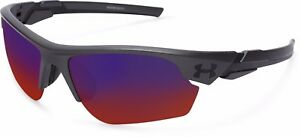 UNDER ARMOUR SUNGLASS WINDUP YOUTH SATIN CARBON  INFRARED MF 8600096-060151
