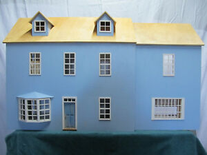 Wonderful 1970's Colonial Doll House -Designer Made -Must See!