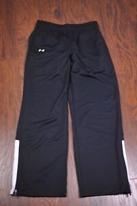 Under Armour Team Campus Track Pants Black Sz Women's Small S [b82]