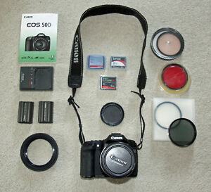 Canon EOS 50D 15.1MP Digital SLR Camera with28-135 f3.5-5.6 IS USM Lens