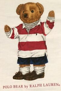 Vintage Polo Bear By Ralph Lauren Polo Sport T-shirt XL Rugby Tee
