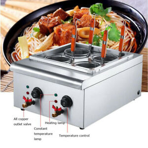 4 Holes Noodles Cooker Machine Electric Pasta Cooking Machine Pasta Maker
