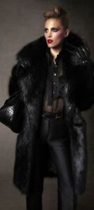 TOM FORD Beaver Fur Coat  SZ 38 = Fits US S - M - NWOT