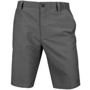 NEW UNDER ARMOUR MATCH PLAY GOLF SHORTS GRAPHITE 34