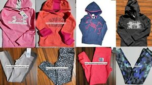HUGE LOT GIRLS SMALL UNDER ARMOUR ~ 8pc ~HOODIE SWEATSHIRT ~ LEGGINGS $340
