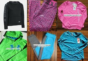UNDER ARMOUR GIRLS ~ EXTRA LARGE LEGGINGS ~ TOP ~ HOODIE SWEATSHIRTS ~ $255