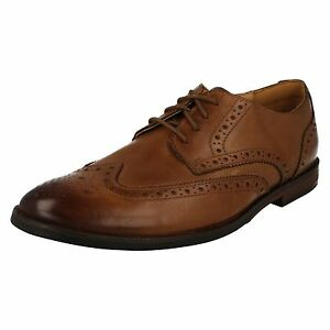 Mens Clarks Broyd Limit Smart Leather Lace Up Shoes G Fitting $106.51