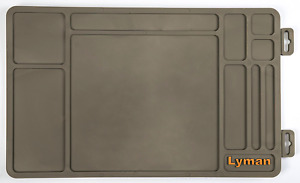 Lyman Products Essential Gun Maintenance Mat Solvent Oil Resistant Easy to Clean