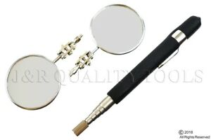 Telescoping Inspection Mirror | Two 2-1/4