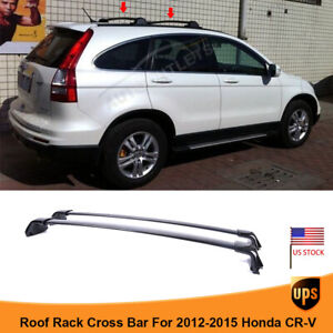 For 2012-2015 Honda CRV Black Roof Top Rail Rack Cross Bars OEM Luggage Carrier