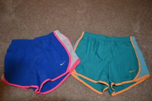 Nike Girls Athletic Running Shorts (Lot of 3) DRI-FIT Size M Youth GUC