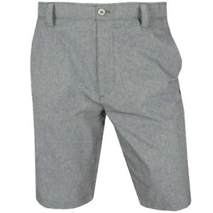 NEW UNDER ARMOUR MATCH PLAY VENTED GOLF SHORTS GRAY 36