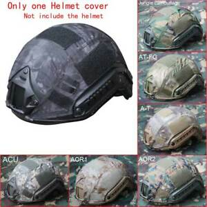Outdoor Airsoft Paintball Tactical Military Gear Combat Fast Helmet Cover 66