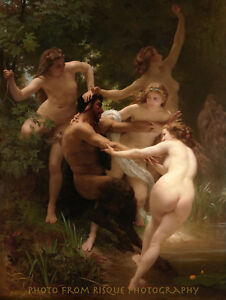Nymphs Surrounding Satyr 8.5x11