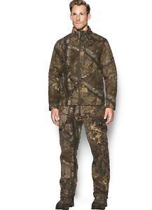 Under Armour Men's Stealth Extreme Wool Camo Jacket and Pants - M