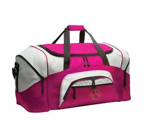 Baseball Personalized - Colorblock Sport Large Duffle Bag Great For The Gym Or