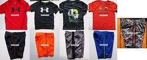 UNDER ARMOUR BOYS 3T SHORTS ~ T-SHIRTS ~ BRAND NEW ~ 9pc $171