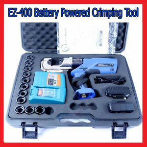 Battery Powered Crimping EZ-400 Tool Copper Wire Terminal for Pressing 16-400mm2