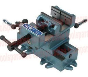 XY CROSS Slide DRILL PRESS VISE Horizontal and Vertical Travel 5