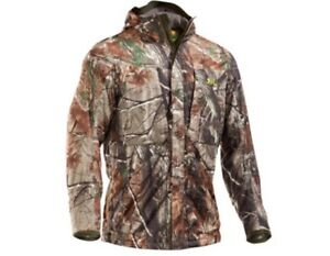 Under Armour Men's Gunpowder Camo Hunting Jacket and Pants Size-XL3832