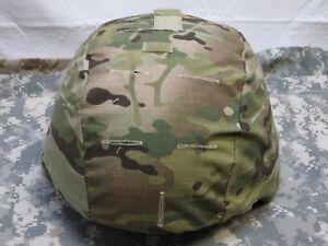 ARMY OCP MULTICAM ACH MICH MADE W KEVLAR HELMET COVER ONE SIZE FITS MOST