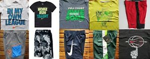NIKE BOYS SIZE 4 ~ SHORTS ~ T-SHIRTS ~ DRI-FIT ~ NWT ~ $220  12 PIECES SUMMER