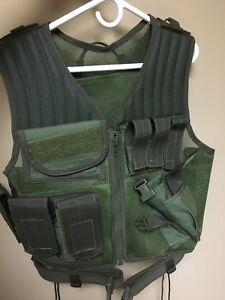 Drago Gear Fast Draw Tactical Vest (Olive Drab) NEW