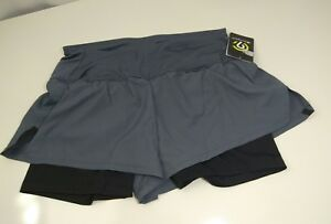 C9 Champion Women's Duo Dry Inner Shorts Athletic Running Pants Size S L XL Gray