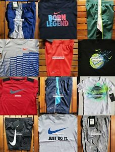 NIKE BOYS SIZE 4T ~ SHORTS ~ T-SHIRTS ~ DRI-FIT ~ NWT~ 10 PIECES ~ NEW $264