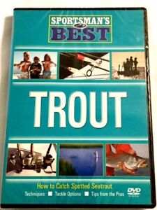 Brand New DVD Sportsman#x27;s Best Trout Fishing Fast Shipping NEW DVD